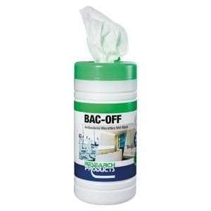 Oates Bac-Off Antibacterial Microfibre Wet Wipes