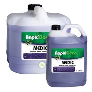 RapidClean Medic Hospital Grade Disinfectant