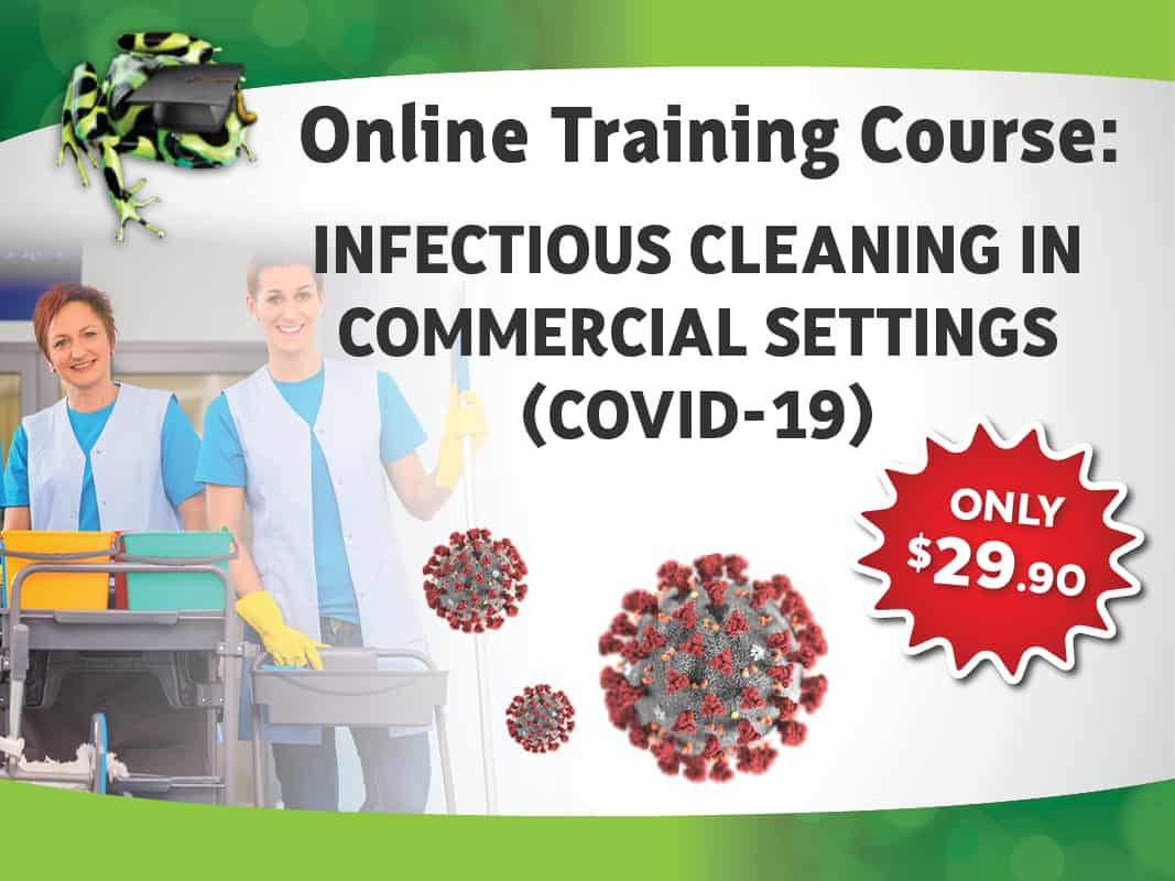 INFECTIOUS CLEANING IN COMMERCIAL SETTINGS COURSE COVID-19