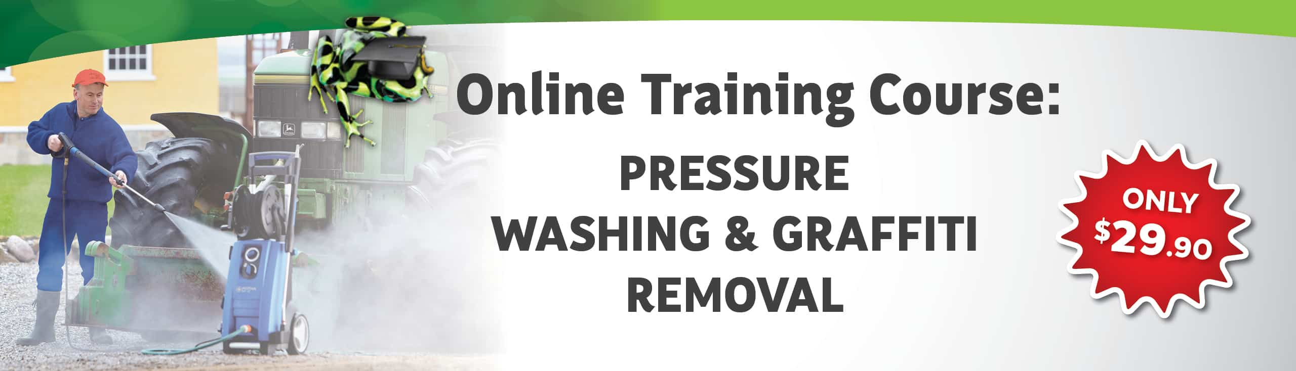 Pressure Washing & Graffiti Removal Course