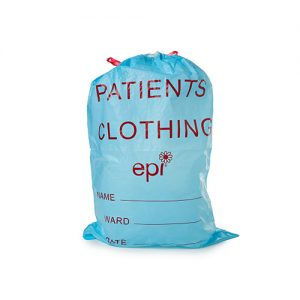 Patient Clothing Bag with Draw String