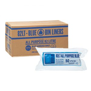 82L Blue Garbage Bags All Purpose