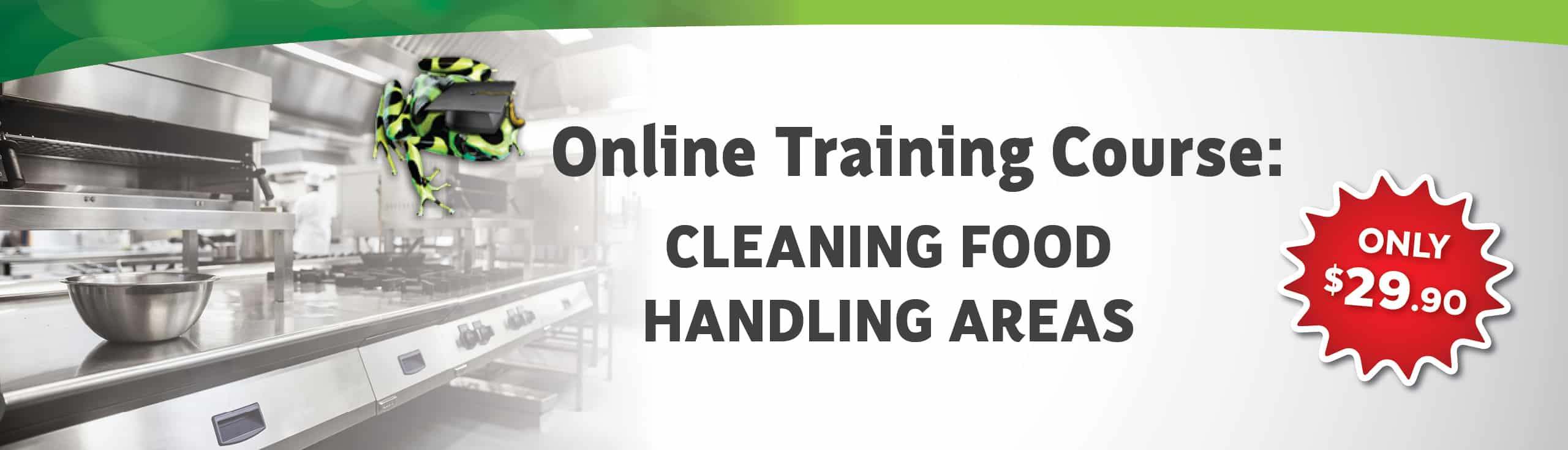 Cleaning Food Handling Areas Course