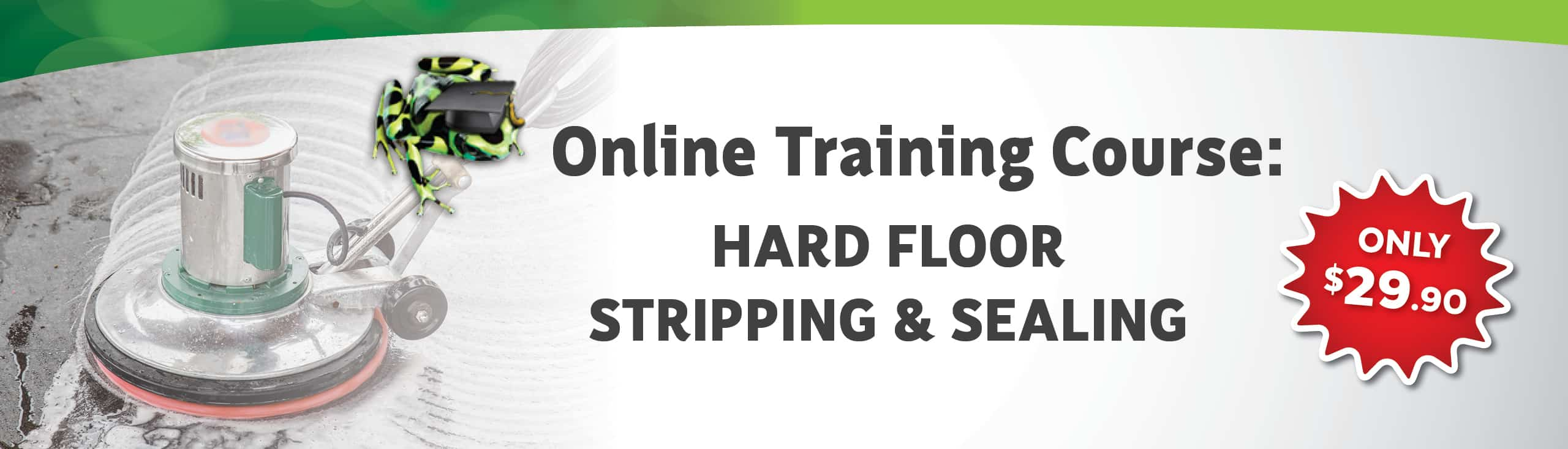 Hard Floor Stripping & Sealing Course