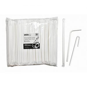 Flexible Paper Straws 6mm