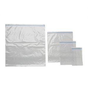 Press Seal Bags with Blue Zip