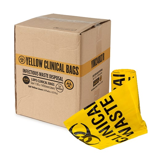 Clinical Waste Bags LDPE