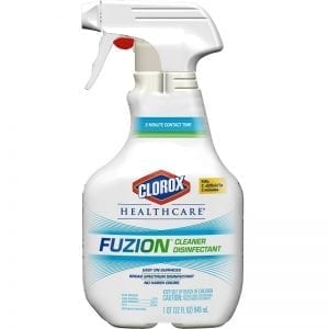 Clorox® Fuzion® Cleaner Disinfectant Spray