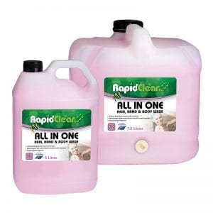 RapidClean All In One Body Wash