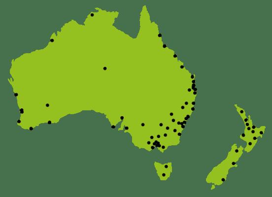 Australia NZ Map 2018 01 B