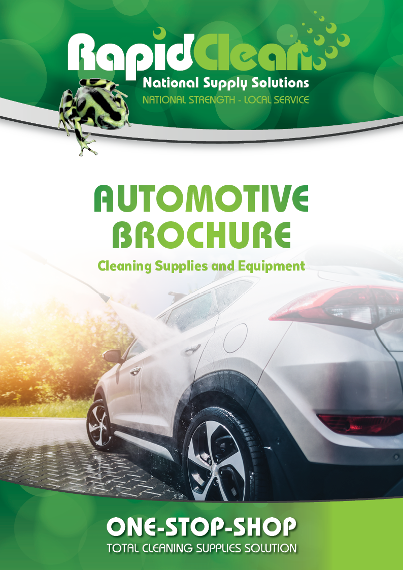 RapidClean Automotive brochure