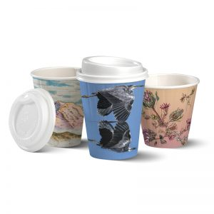 BioPak Art Series Double Wall Hot Cups