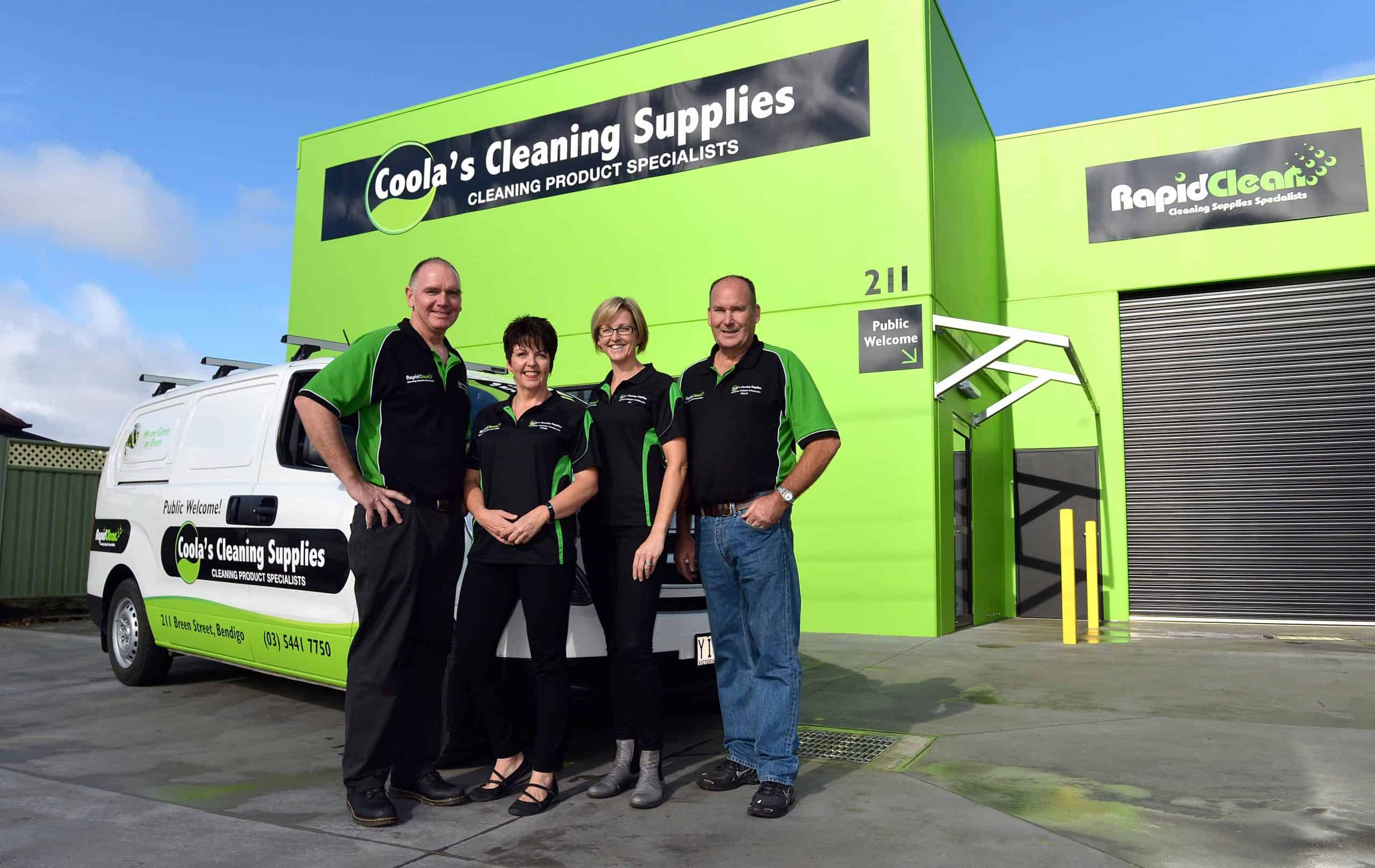 Coolas Cleaning Supplies