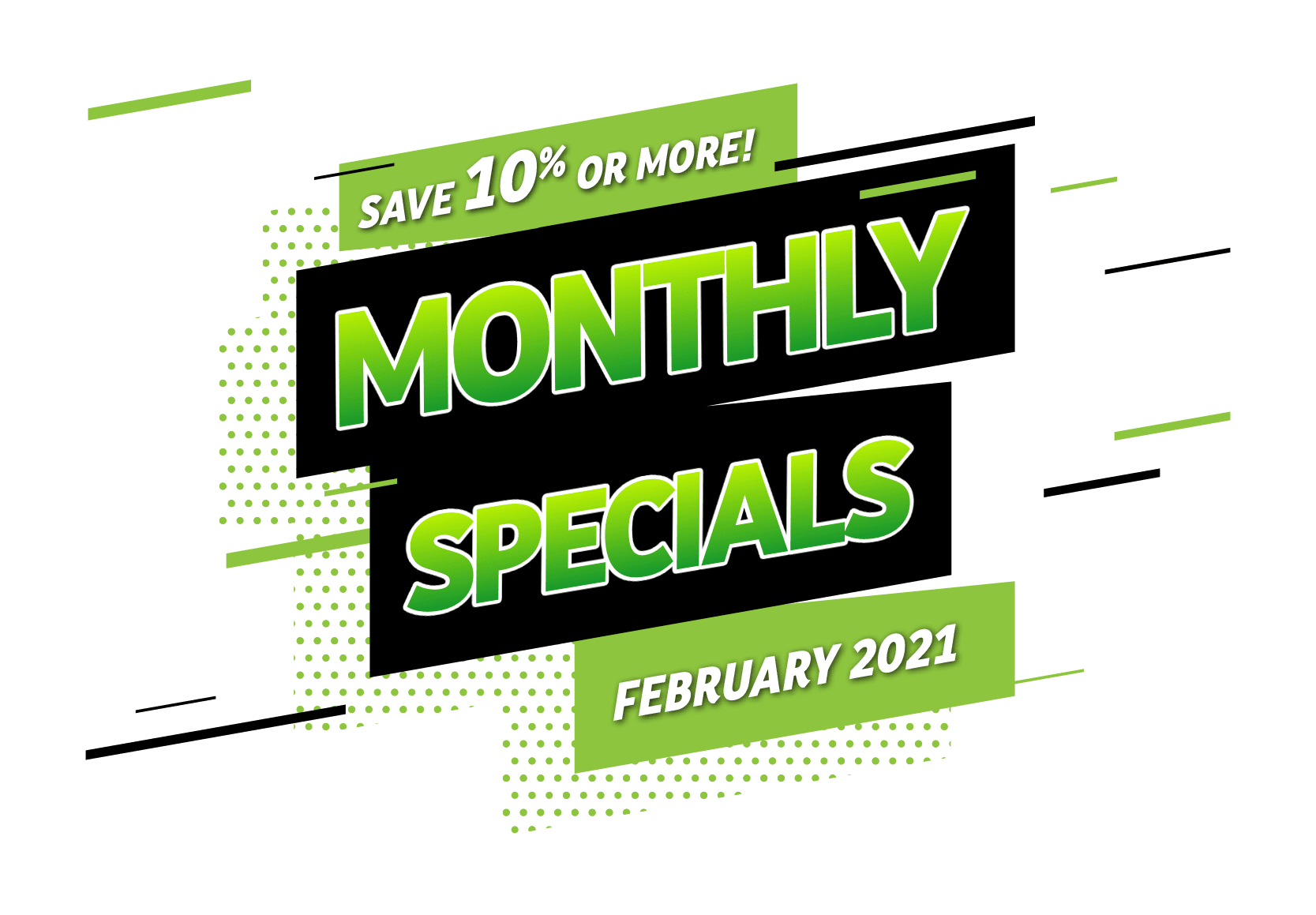 Monthly Specials EDM Feb 21 Title