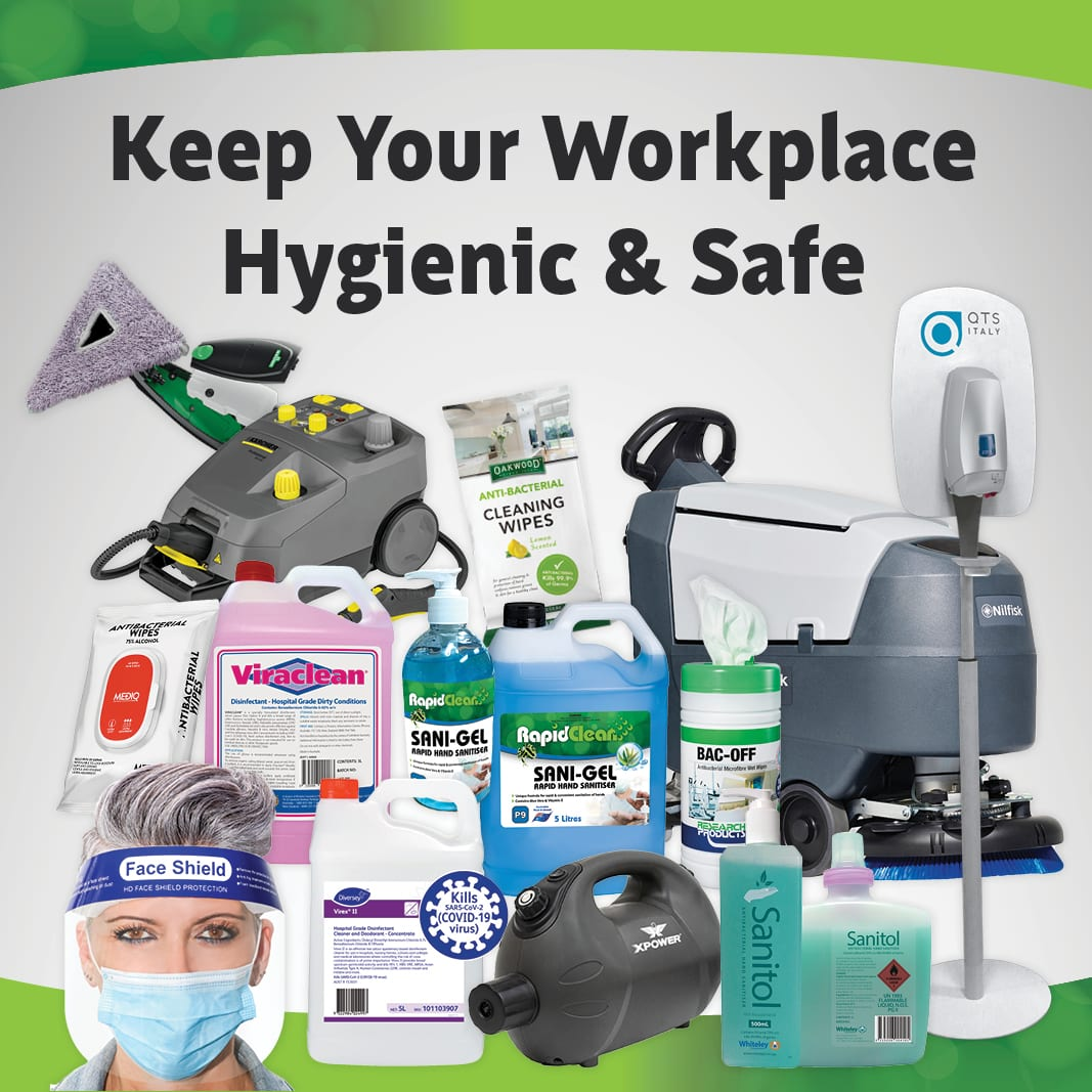 Keep Your Workplace Hygienic & Safe