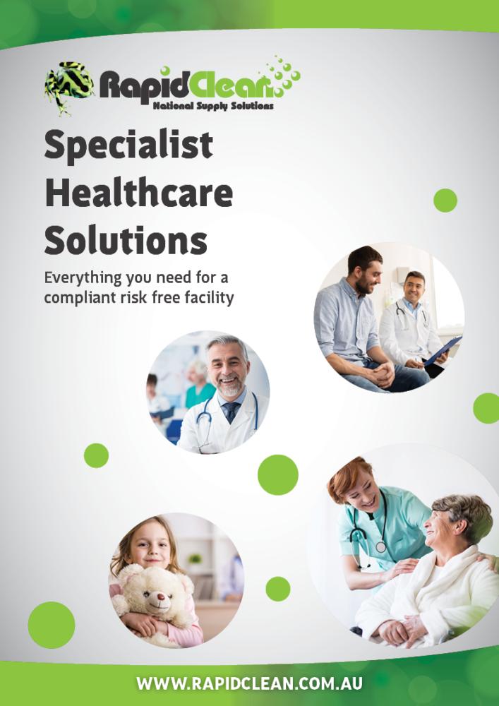 RapidClean Healthcare Brochure