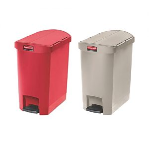 Rubbermaid Slim Jim Resin End Step Bin 30L