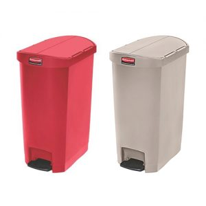 Rubbermaid Slim Jim Resin End Step Bin 50L