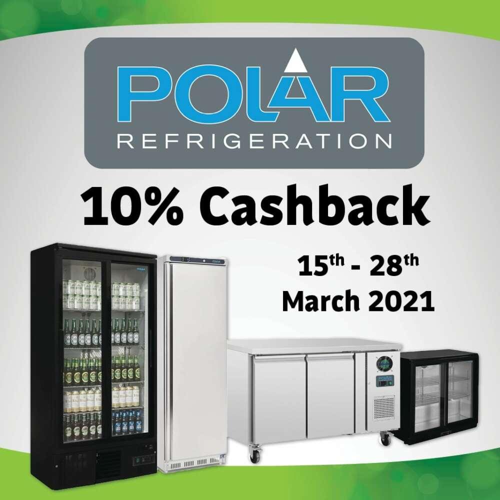 Polar Refrigeration 10% Cashback Deal