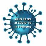 Kills Covid-19 in 5 Minutes