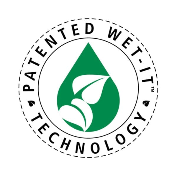 Patented Wet-It Technology