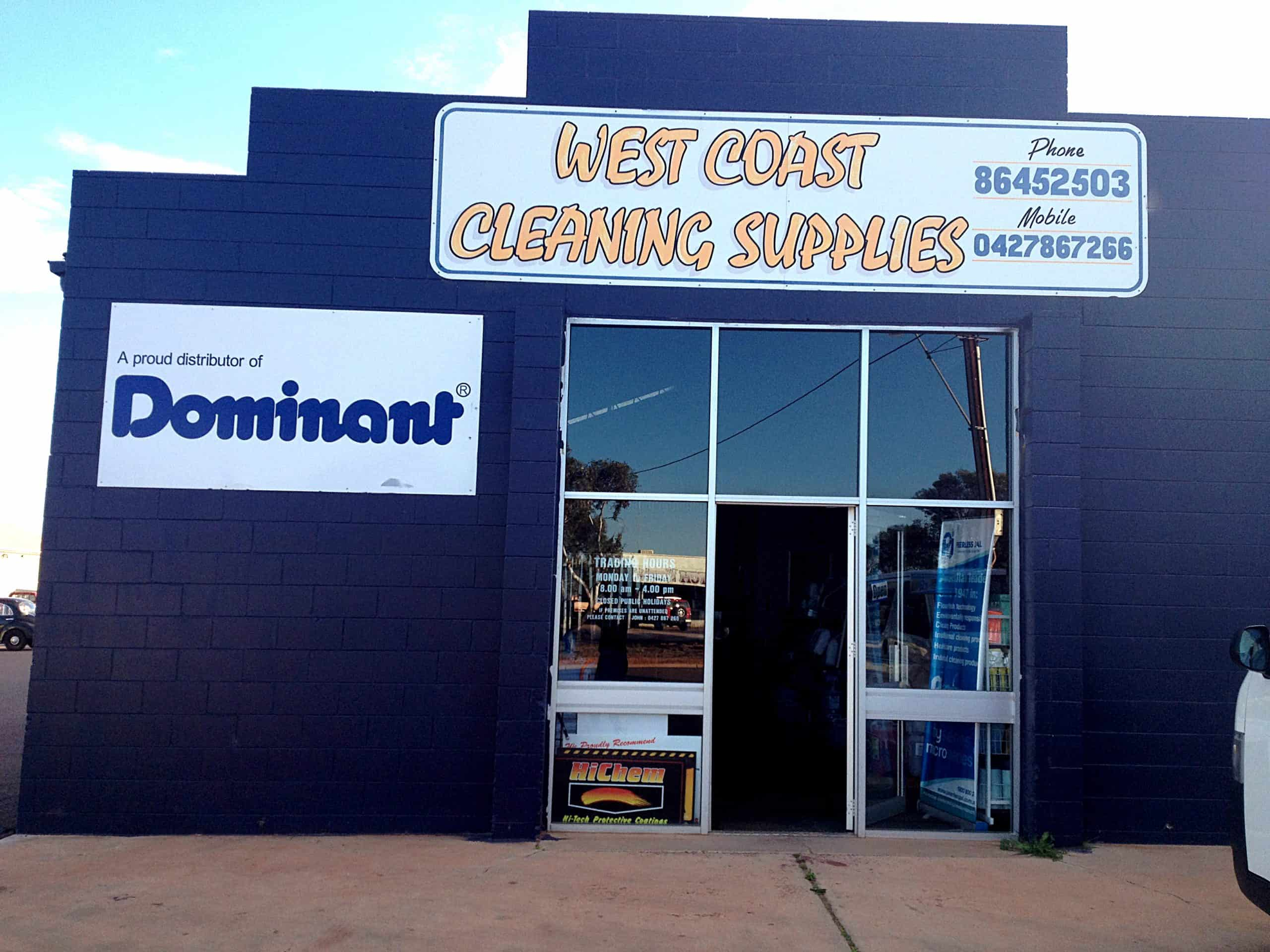 RapidClean Whyalla West Coast Cleaning Supplies