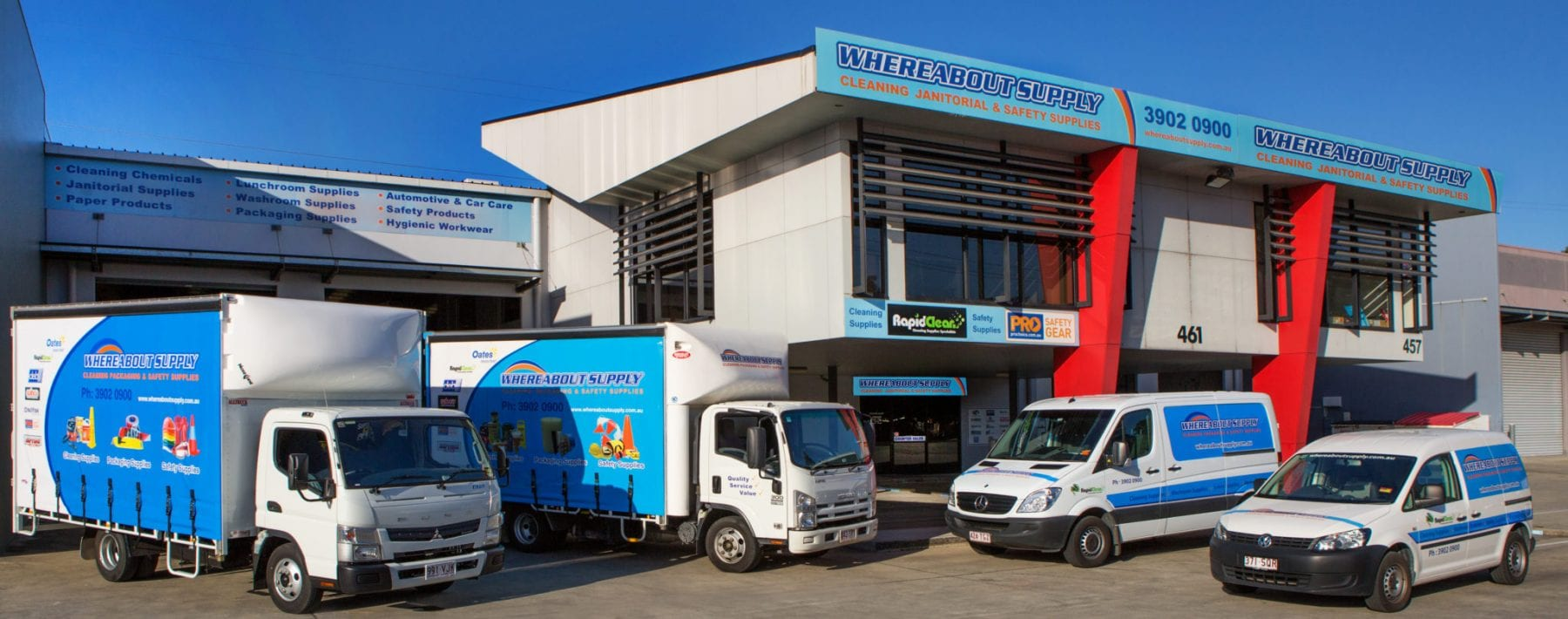 Whereabout Supply Brisbane