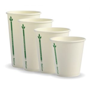 BioPak Green Line Hot Cups