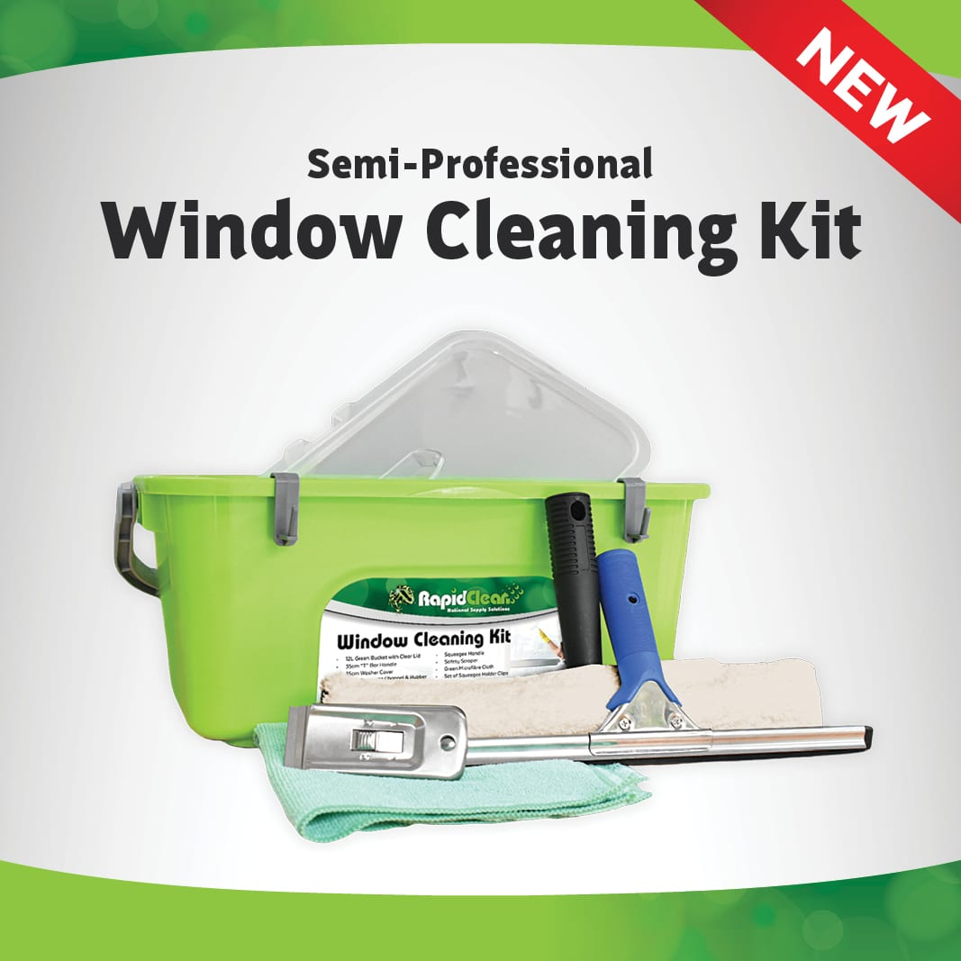 New RapidClean Window Cleaning Kit