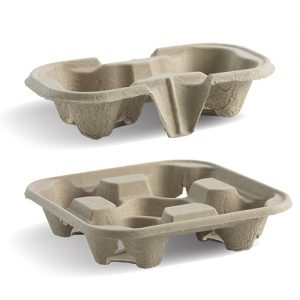 BioPak Recycled Cup Trays